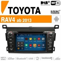 Autoradio Navigation für Toyota, Berling TS-1226HD, ANDROID Version