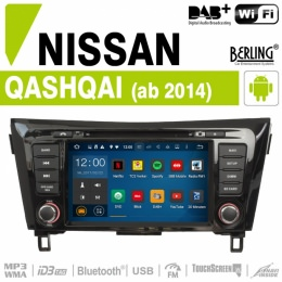 Autoradio Navigation für NIssan, Berling TS-1608HC-1, ANDROID Version