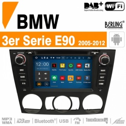 Autoradio Navigation für BMW, Berling TS-1629S-1, ANDROID Version