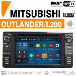 Autoradio Navigation für Mitsubishi, Berling TS-1707HD-1, ANDROID Version