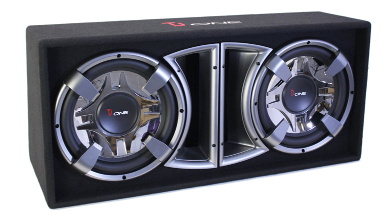 aktiv subwoofer 2000 watt 2x 30cm tj one csa21201d. Black Bedroom Furniture Sets. Home Design Ideas