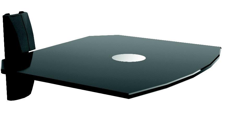 dvd player wandregal klarglas oder schwarz dvd 11 tv m bel car gmbh. Black Bedroom Furniture Sets. Home Design Ideas
