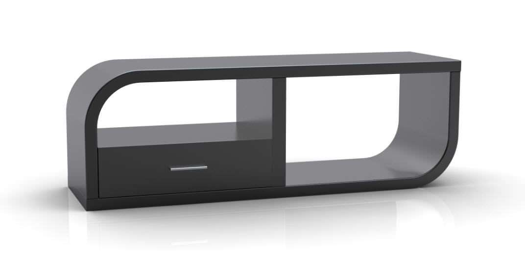 Design TV-Möbel aus Holz in 4 Farben, Berling N2002 - TV Möbel - car ...
