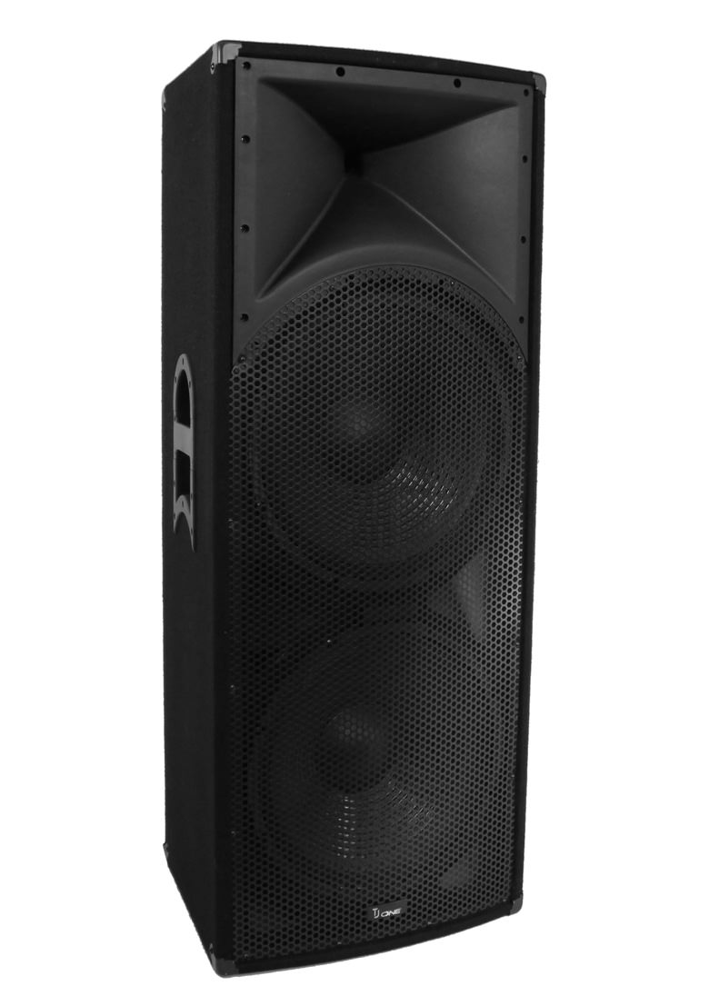 stand pa lautsprecher mit 2x15 woofer und 2000watt tj. Black Bedroom Furniture Sets. Home Design Ideas