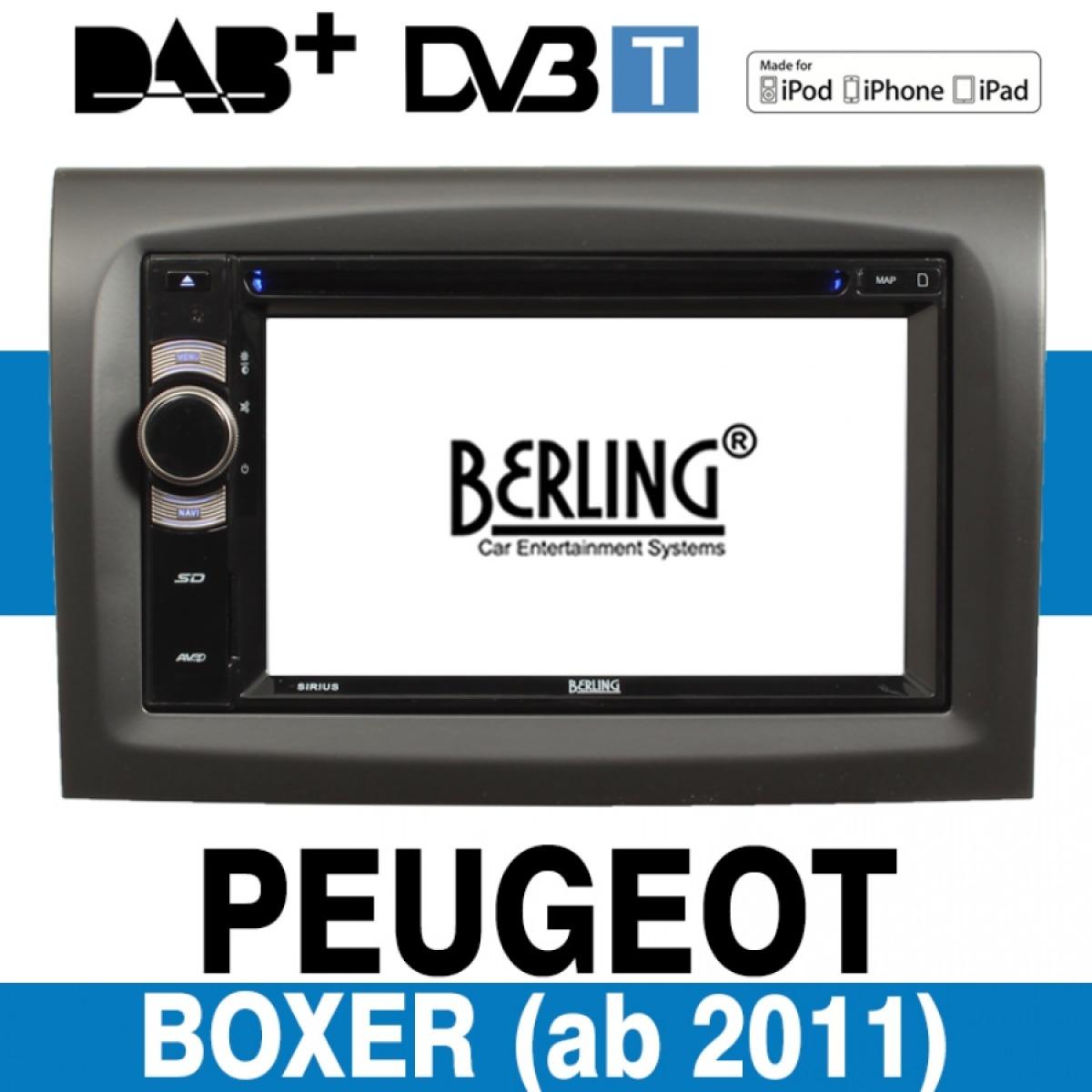 autoradio navigation f r peugeot boxer ab 2011 berling. Black Bedroom Furniture Sets. Home Design Ideas