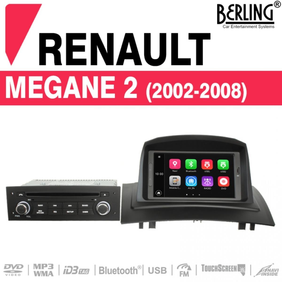 autoradio navigation f r renault megane 2002 2008. Black Bedroom Furniture Sets. Home Design Ideas