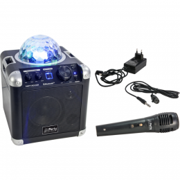 "Tragbare Lautsprecherbox ""PARTY-ROCKER"" 50W SET"