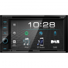 """Kenwood DDX4019DAB, 2-DIN, 6.2"""", Bluetooth, USB, Android, DAB+, inkl Antenne"""