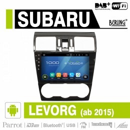 Android Autoradio für Subaru Levrog ab 2015, DAB+ ready,Berling AN-9817