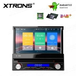 1-DIN 7 Zoll Android 9.0 DVD-Autoradio, DAB+ ready, D715P