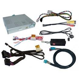Rückfahrkamera-Eingang + AUX-Video-IN für Audi MMI 3G/3G+ basic/high, VW Touareg