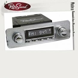 """Retro Radio """"LAGUNA"""" Komplett-Set mit allem Zubehör, UKW/MW, AUX von RETROSOUND"""