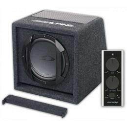 Alpine SWE-815 300W Aktivwoofer20cm (8-Zoll) Aktivwooferbox