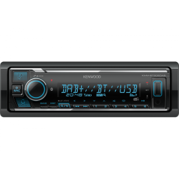 Kenwood KMM-BT506DAB, Bluetooth/USB/DAB+, Spotify & Alexa,  variable Beleuchtung