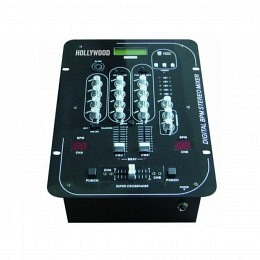 "Mischpult Hollywood, 3-Kanal, Beatcounter BPM, USB-Slot ""MX-33 Beat/USB"""