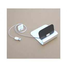 iPad Docking-Station aus Aluminium