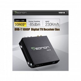 eonon Digital Receiver Box, DVB-T HD digital, mit USB-Anschl., V0018