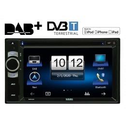 """2-DIN Autoradio, DAB+ ready, GPS/Navigation, 6.2"""", MFI, Berling SIRIUS"""