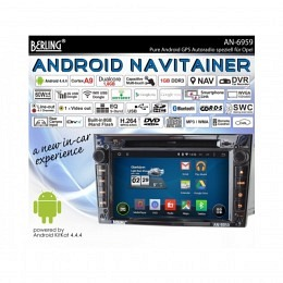 Android Autoradio f�r Opel Vectra 2002-2008, Navigation, Berling AN-6959