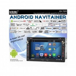 Android Autoradio für VW Transporter T4/T5 1998-2009, DAB+ ready, Berling AN7009
