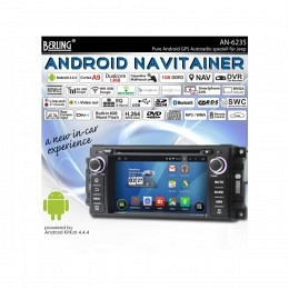 Android Autoradio für Jeep Grand Cherokee 2008-2012, Navigation, Berling AN-6235