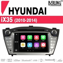 Autoradio Navigation für Hyundai IX35 (2010-2014), Berling TS-1910HD-2