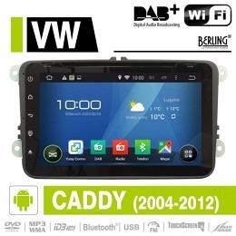 Android Autoradio für VW Caddy 2004 - 2012, DAB+ ready, Berling AN-8000