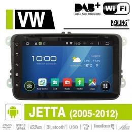 Android Autoradio für VW Jetta 2005 - 2012, DAB+ ready, Berling AN-8000