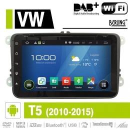 Android Autoradio für VW Transporter T5 2010 - 2015, DAB+ ready, Berling AN-8000