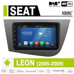 Android Autoradio für Seat Leon 2005-2009, DAB+ ready, Berling AN-8000