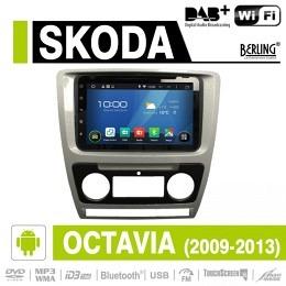Android Autoradio für Skoda Octavia 2009-2013, DAB+ ready, Berling AN-8000