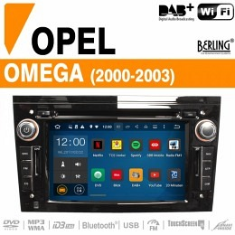 Autoradio Navigation für Opel Omega (2000 - 2003), Berling TS-1102E