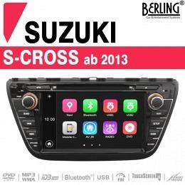 Autoradio Navigation für Suzuki S-Cross (ab 2013), Berling TS-1506HD