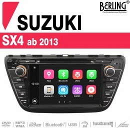 Autoradio Navigation für Suzuki SX4 (ab 2013), Berling TS-1506HD