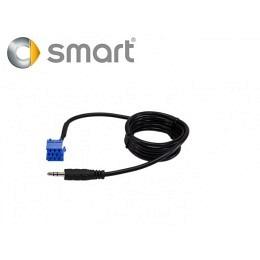 AUX Eingang für Smart OEM Autoradio Mini ISO auf 3.5mm Klinken-Anschluss